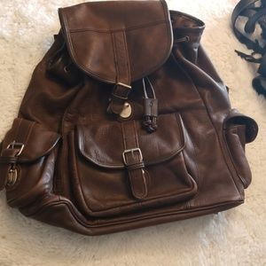 Other - All leather backpack